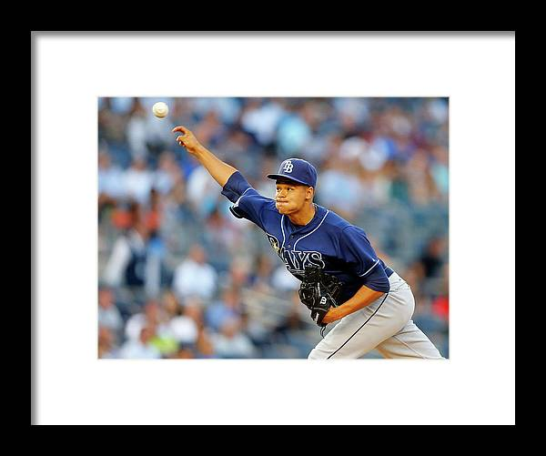 Second Inning Framed Print featuring the photograph Chris Ray by Jim Mcisaac