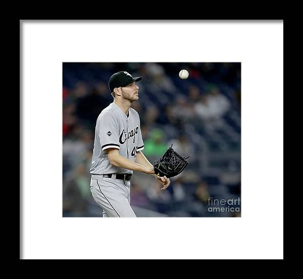 Three Quarter Length Framed Print featuring the photograph Chris Sale by Elsa