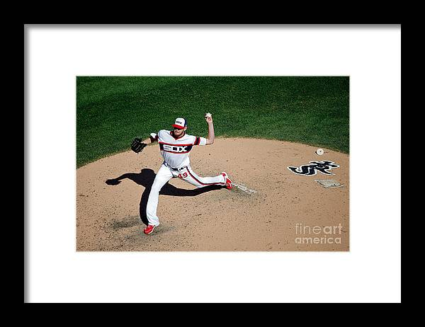 People Framed Print featuring the photograph Chris Sale by Jon Durr