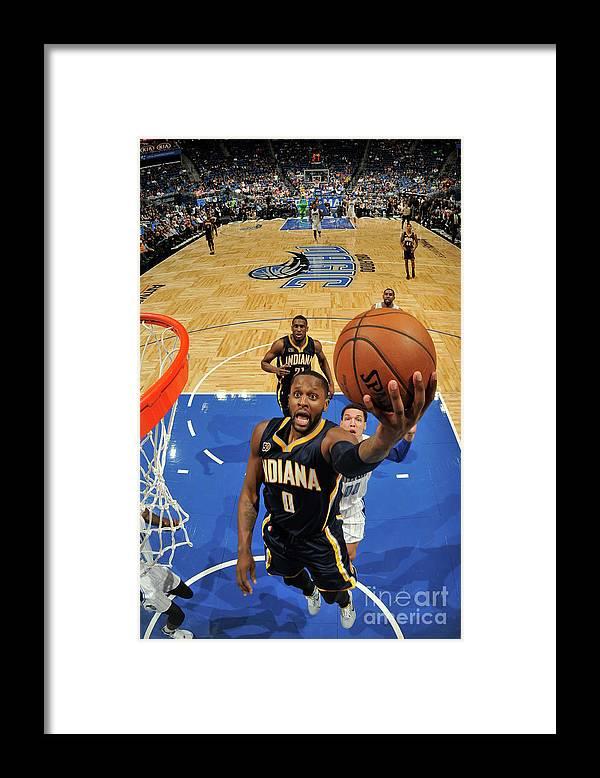 Nba Pro Basketball Framed Print featuring the photograph C.j. Miles by Fernando Medina