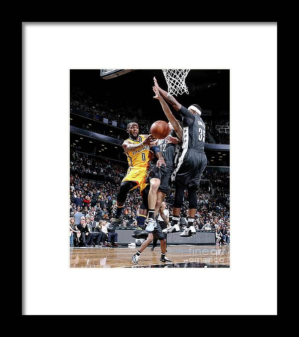 Nba Pro Basketball Framed Print featuring the photograph C.j. Miles by Nathaniel S. Butler