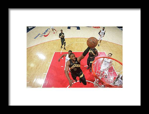 Playoffs Framed Print featuring the photograph C.j. Miles by Ned Dishman