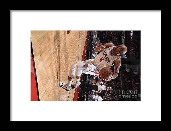 Nba Pro Basketball Framed Print featuring the photograph C.j. Williams by Bill Baptist