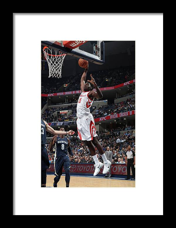 Nba Pro Basketball Framed Print featuring the photograph Clint Capela by Joe Murphy