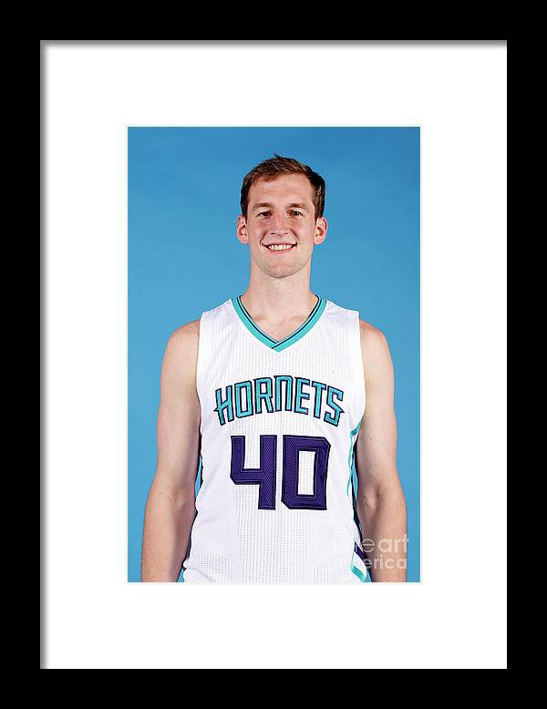 Media Day Framed Print featuring the photograph Cody Zeller by Brock Williams-smith