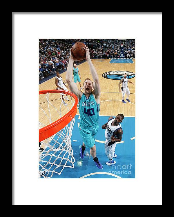 Nba Pro Basketball Framed Print featuring the photograph Cody Zeller by Glenn James