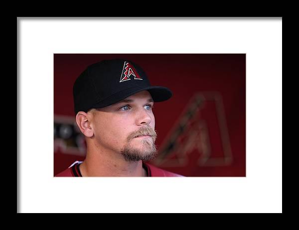American League Baseball Framed Print featuring the photograph Colorado Rockies v Arizona Diamondbacks by Christian Petersen