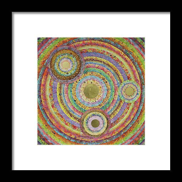 Framed Print featuring the digital art Composition-2 by Mark Myers