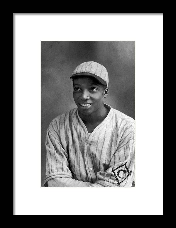 Cool Papa Bell Framed Print featuring the photograph Cool Papa Bell by National Baseball Hall Of Fame Library