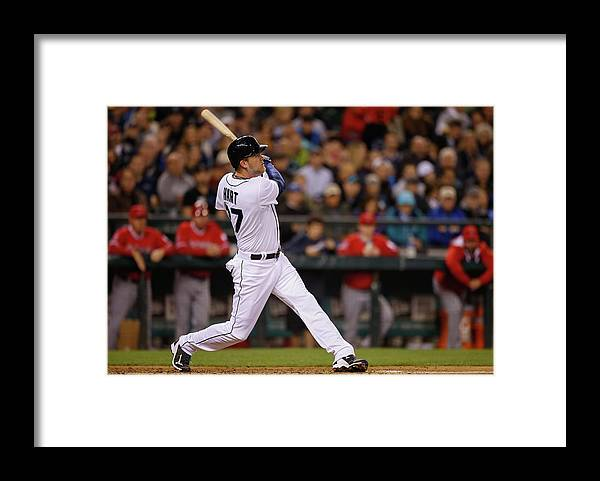 American League Baseball Framed Print featuring the photograph Corey Hart by Otto Greule Jr