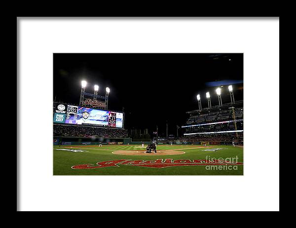 People Framed Print featuring the photograph Corey Kluber by Elsa