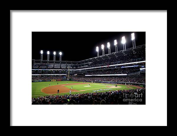 People Framed Print featuring the photograph Corey Kluber by Ezra Shaw