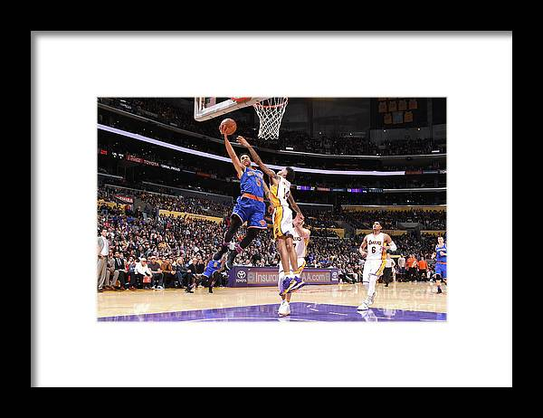 Nba Pro Basketball Framed Print featuring the photograph Courtney Lee by Andrew D. Bernstein
