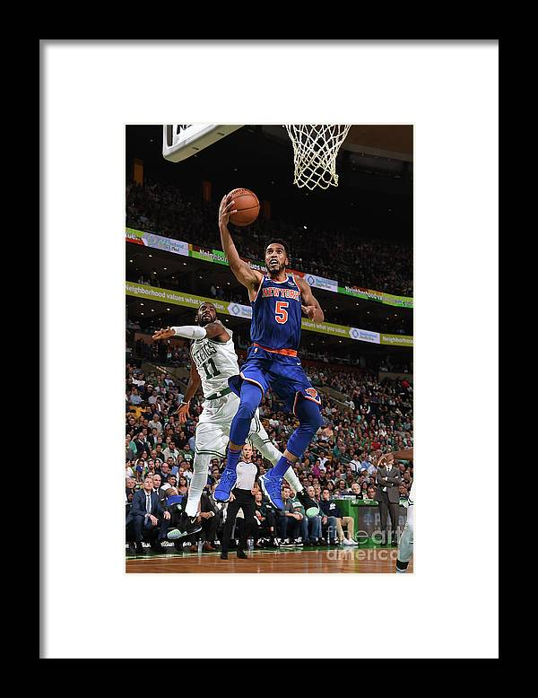 Nba Pro Basketball Framed Print featuring the photograph Courtney Lee by Brian Babineau