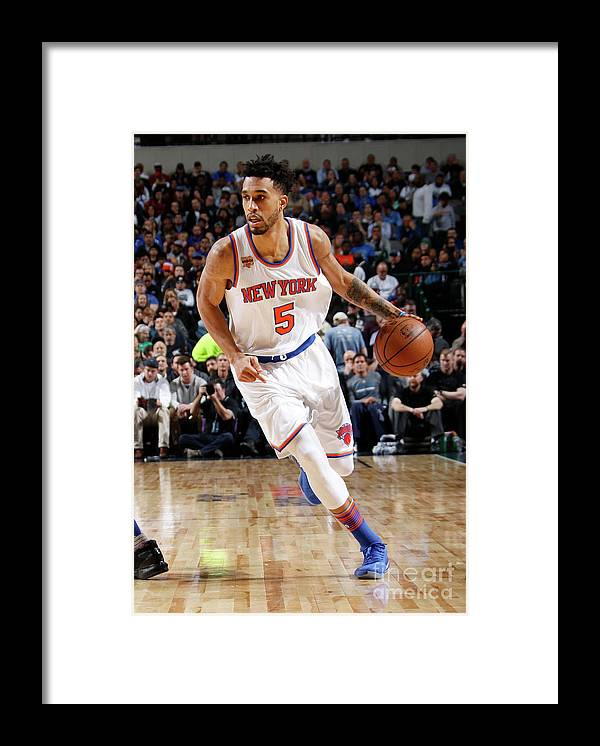 Nba Pro Basketball Framed Print featuring the photograph Courtney Lee by Danny Bollinger