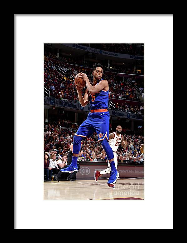 Nba Pro Basketball Framed Print featuring the photograph Courtney Lee by David Liam Kyle