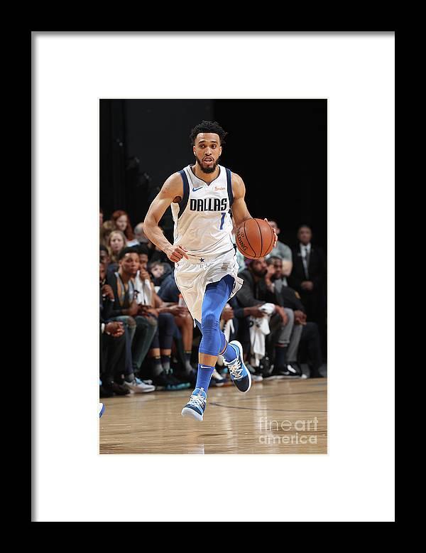 Nba Pro Basketball Framed Print featuring the photograph Courtney Lee by Joe Murphy