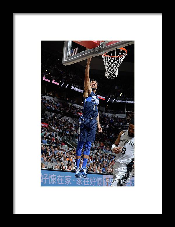 Nba Pro Basketball Framed Print featuring the photograph Courtney Lee by Mark Sobhani
