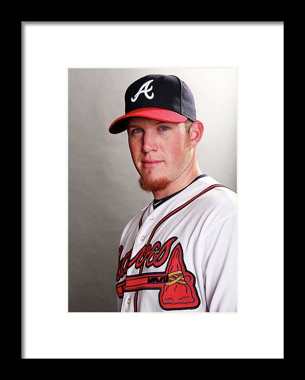 Media Day Framed Print featuring the photograph Craig Kimbrel by Elsa
