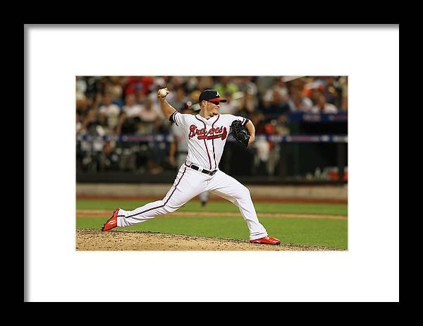 American League Baseball Framed Print featuring the photograph Craig Kimbrel by Mike Ehrmann