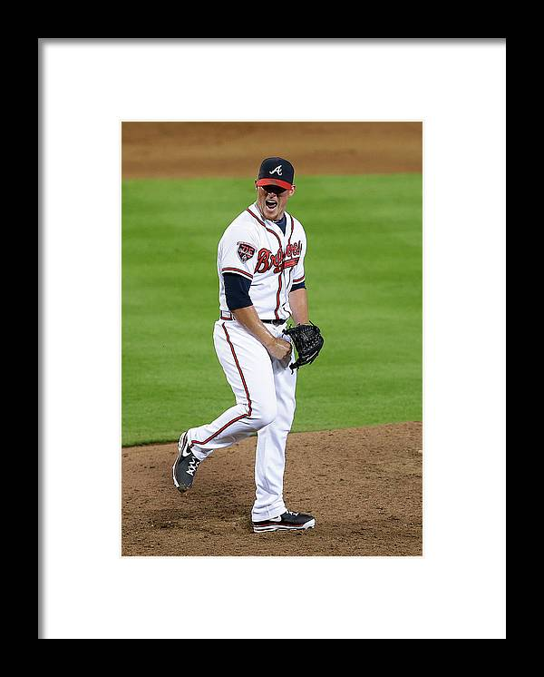 Atlanta Framed Print featuring the photograph Craig Kimbrel by Mike Zarrilli
