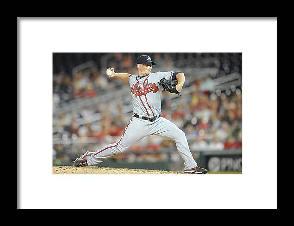 Ninth Inning Framed Print featuring the photograph Craig Kimbrel by Mitchell Layton