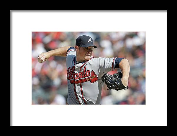 Ninth Inning Framed Print featuring the photograph Craig Kimbrel by Rob Carr