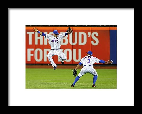 People Framed Print featuring the photograph Curtis Granderson by Jim Mcisaac