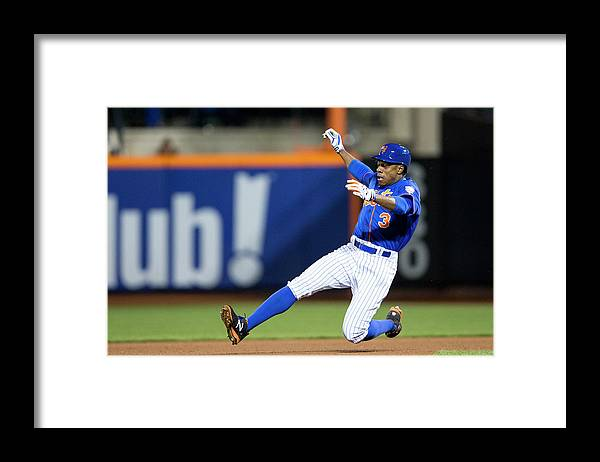 American League Baseball Framed Print featuring the photograph Curtis Granderson by Taylor Baucom