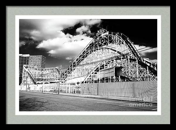 Cyclone Ride in 2006 at Coney Island by John Rizzuto