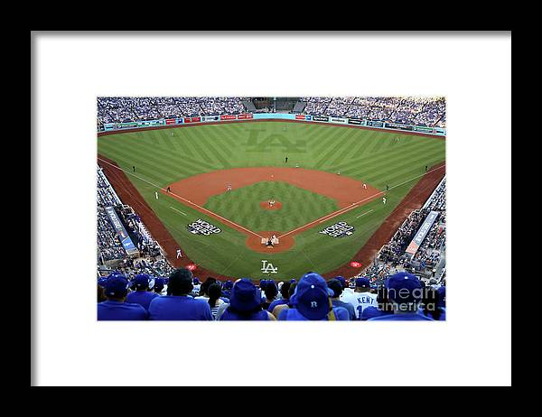People Framed Print featuring the photograph Dallas Keuchel by Ezra Shaw