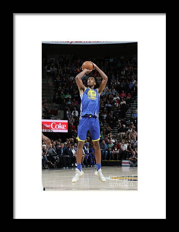 Nba Pro Basketball Framed Print featuring the photograph Damian Jones by Melissa Majchrzak