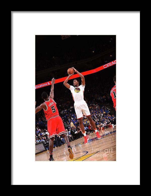 Nba Pro Basketball Framed Print featuring the photograph Damian Jones by Noah Graham