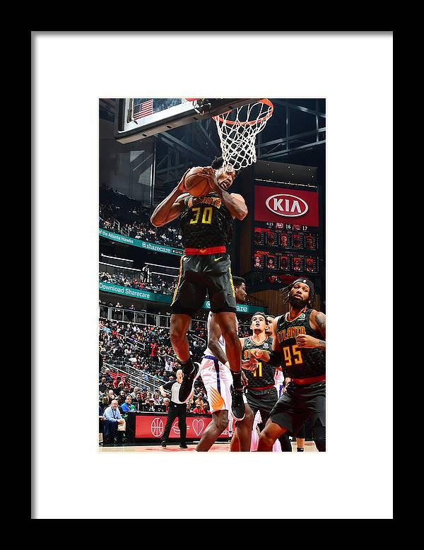 Atlanta Framed Print featuring the photograph Damian Jones by Scott Cunningham