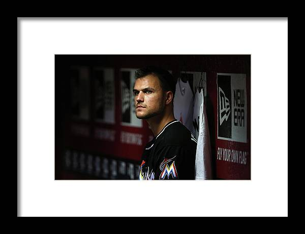 Relief Pitcher Framed Print featuring the photograph Dan Jennings by Christian Petersen