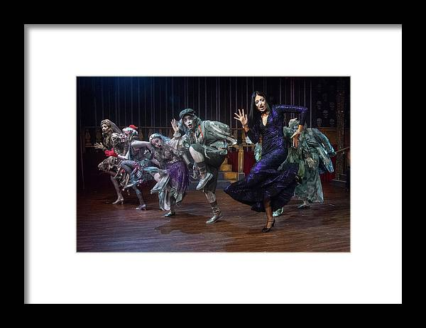 Adams Family Framed Print featuring the photograph Dance With The Relatives by Alan D Smith