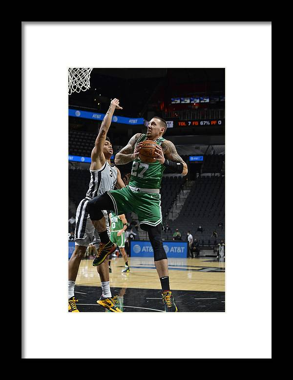 Nba Pro Basketball Framed Print featuring the photograph Daniel Theis by Logan Riely