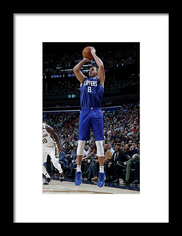 Danilo Gallinari Framed Print featuring the photograph Danilo Gallinari by Layne Murdoch Jr.