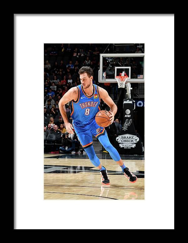 Danilo Gallinari Framed Print featuring the photograph Danilo Gallinari by Logan Riely