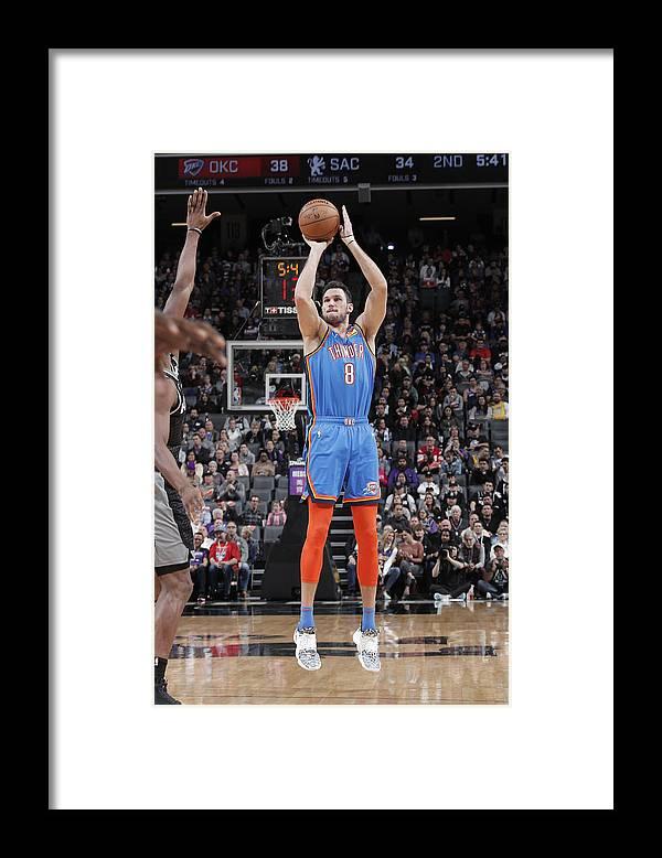 Danilo Gallinari Framed Print featuring the photograph Danilo Gallinari by Rocky Widner