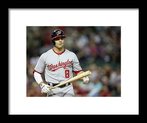 National League Baseball Framed Print featuring the photograph Danny Espinosa by Christian Petersen