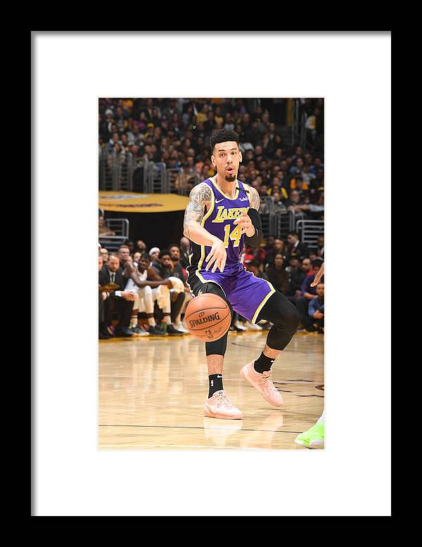 Nba Pro Basketball Framed Print featuring the photograph Danny Green by Andrew D. Bernstein