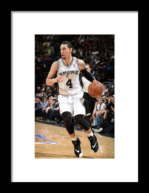 Sport Framed Print featuring the photograph Danny Green by Garrett Ellwood