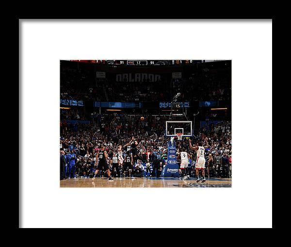 Nba Pro Basketball Framed Print featuring the photograph Danny Green by Gary Bassing