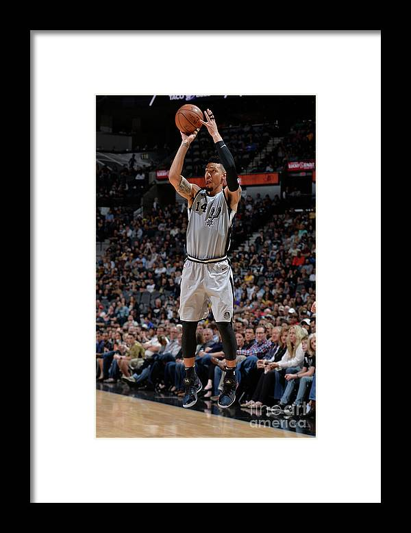 Nba Pro Basketball Framed Print featuring the photograph Danny Green by Mark Sobhani