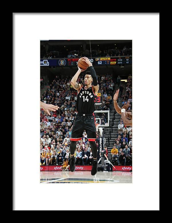 Nba Pro Basketball Framed Print featuring the photograph Danny Green by Melissa Majchrzak