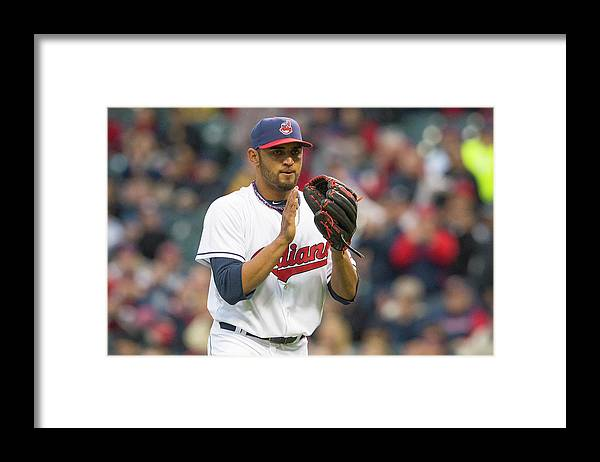 American League Baseball Framed Print featuring the photograph Danny Salazar by Jason Miller