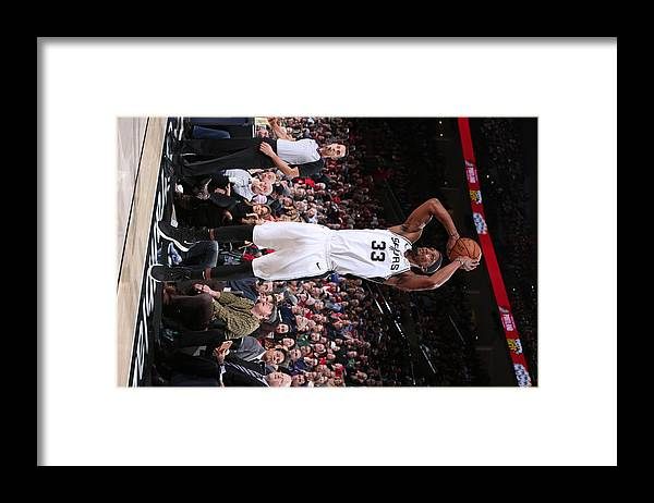 Nba Pro Basketball Framed Print featuring the photograph Dante Cunningham by Sam Forencich