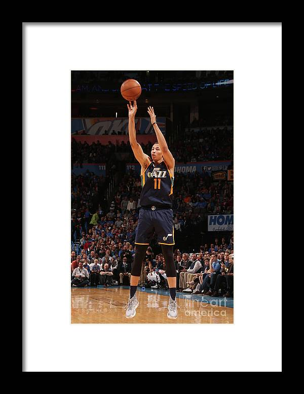 Nba Pro Basketball Framed Print featuring the photograph Dante Exum by Layne Murdoch