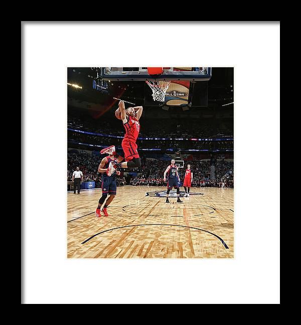 Event Framed Print featuring the photograph Dante Exum by Nathaniel S. Butler